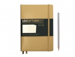 LEUCHTTURM1917 agenda 2019 Medium (A5) Weekly Planner & Notebook METALLIC